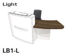 Light Reception Desk Models