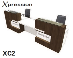 Xpression Reception Desks Models