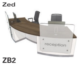 Zed Reception Desk ZB2