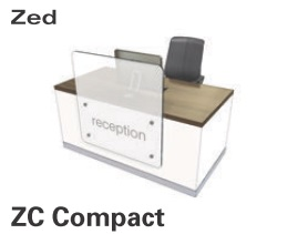 Zed Reception Desk ZC Compact