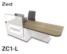 Zed Reception Desk ZC1-L