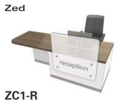 Zed Reception Desk ZC1-R