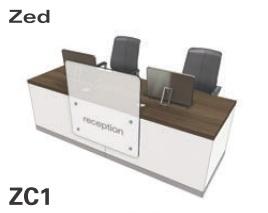 Zed Reception Desk ZC1