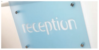 Xpression Reception Desk Logos And Graphics