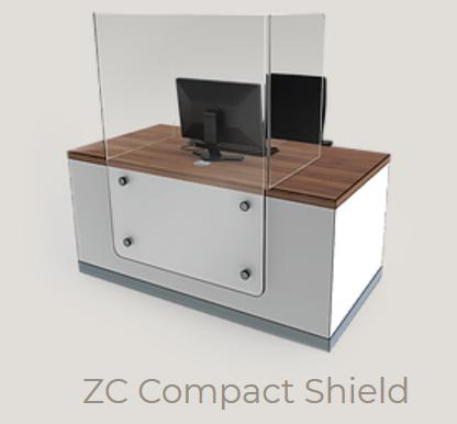 Zed-Shield Reception Desk ZC Compact