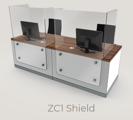 Zed-Shield Reception Desk ZC1