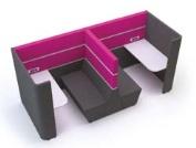 Cubbi Bench 1200 Back-To-Back Double Acoustic Enclosure