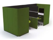 Cubbi Task 1200 Back-To-Back Double Acoustic Enclosure