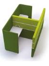 Cubbi Task 1200 Side-By-Side Double Acoustic Enclosure