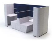 Cubbi Bench 800 Back-To-Back Double Acoustic Enclosure