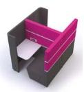 Cubbi Bench 800 Side-By-Side Double Acoustic Enclosure