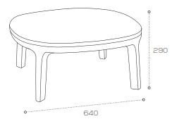 Dixi Chair Dimensions