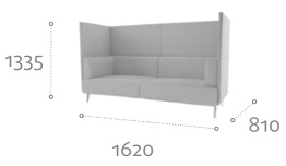 Thynk Soft Seating STK4 Dimensions