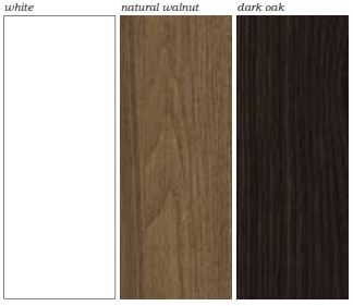Segno Desks and Workstations Colour Finishes