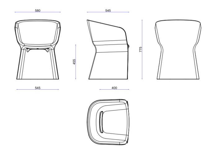 Margarita Chair Dimensions