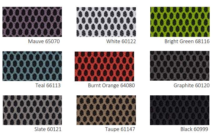 Kind Mesh Colour Options - Standard