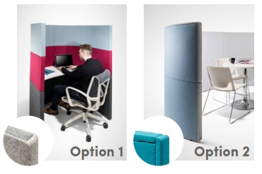 Style Options Solo Corral Study Booths