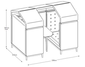 Jig Shed Dimensions