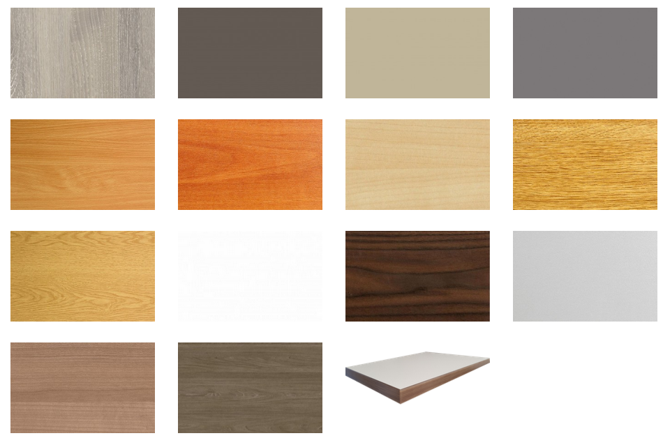 Student Bedroom Furniture - Finishes
