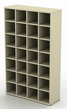 Pigeon Hole Units - 1000mm (4 Compartments) Wide