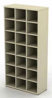 Pigeon Hole Units - 800mm (3 Compartments) Wide