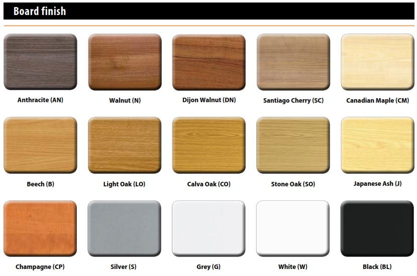 Two Door Cupboards - Wood Finishes