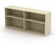 Open Storage Units and Bookcase Models
