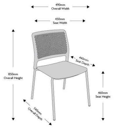 Grafton Chair Dimensions