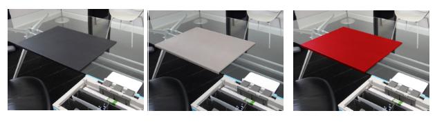 Fold Desk Mat Colours