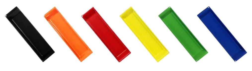 Spectrum Pedestal Handle Colours