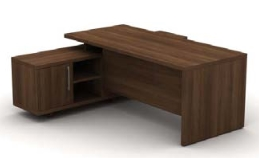 Cirrus Desks and Workstations Credenza 3/4 Modesty Panel