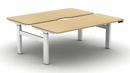 Move Height Adjustable Desks | Electric Back To Back Desk