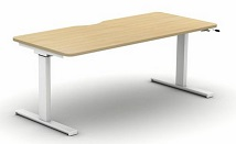 Move Height Adjustable Desks | Crank Single Desk