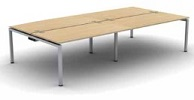 Soho2 Bench Desk | Soho2 Bench Desking - 4 Person Desk
