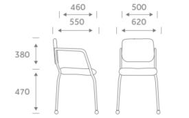 Alina Chair Dimensions