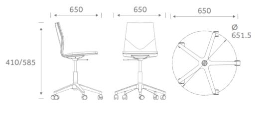FourCast Wheeler dimensions FCW