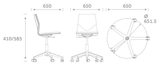 FourCast Wheeler dimensions FCWS
