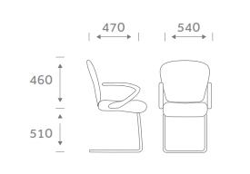 Sphere Task Chair Dimensions