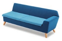 Stretch Soft Seating STRETCH3/L - Three Seater Left Arm