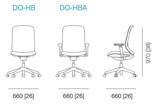 Do Mesh Task Chair Dimensions
