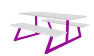 Nova Bench Table Image
