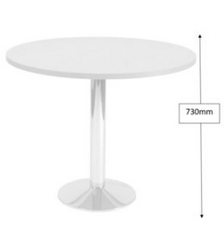 Slope Round Table Dimensions