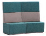 Fifteen High Back Soft Seating | 15-22-CC