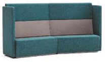 Fifteen High Back Soft Seating | 15-42-CC-AR