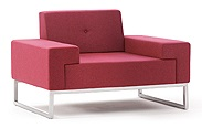 Hub Soft Seating   Hub Armchair - HUB-1