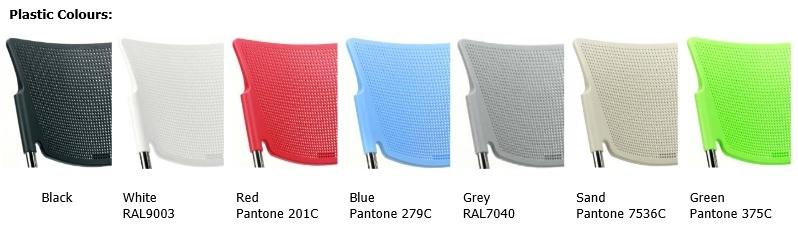 Mia Meeting Chair Colours