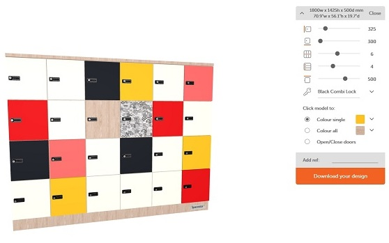 Smart Lockers | Customiser Tool