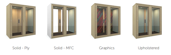 Residence Acoustic Booths Back Options