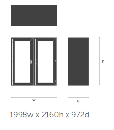 Residence Acoustic Booths Dimensions - Meet