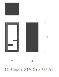 Residence Acoustic Booths Dimensions - Work
